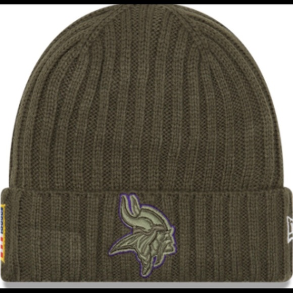 New Era Minnesota Vikings Winter Hat Troops NFL c879406e1
